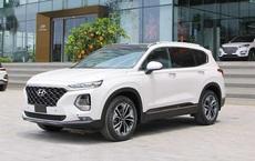Hyundai Santa Fe đại hạ giá, giảm sốc 110 triệu đồng