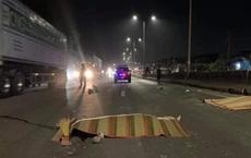 Chạy xe quá tốc độ, đôi nam nữ tự ngã tử vong