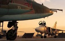 """Ồ ạt nã trăm cuộc không kích vào sa mạc, Nga dìm IS trong """"biển lửa"""" ở Syria"""