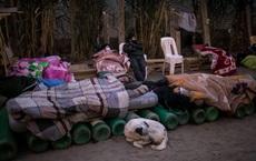 24h qua ảnh: Người dân nằm ngủ ngoài trời để xếp hàng mua ôxy