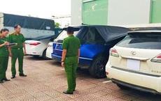 Giám đốc doanh nghiệp làm giả giấy tờ loạt xe sang Lexus 570, BMW nhập lậu, mang đi cầm cố