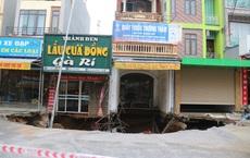 """""""Hố tử thần"""" xuất hiện ở Hà Nội đã lan rộng hơn 100m2, 20 hộ dân phải di dời"""