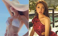 Vợ 3 kém 16 tuổi của Chi Bảo: Mặt xinh, vóc dáng nóng bỏng
