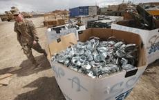 Sau khi rút quân, Mỹ xử lý hàng tấn thiết bị quân sự ở Afghanistan như thế nào?