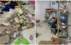 Chủ trọ phát hoảng khi kiểm tra phòng của cô gái xinh đẹp: Rác chất chồng, đồ nhạy cảm cũng không vứt