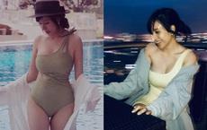Vẻ gợi cảm của Bà Tưng ở tuổi 28