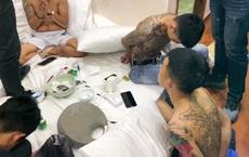 """14 nam nữ bay lắc trong 2 căn biệt thự, """"chân dài"""" được thuê phục vụ sử dụng ma túy giữa mùa dịch Covid-19"""