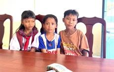 3 học sinh nhặt được 42 triệu, trả cho người đánh rơi: Những bàn tay run cầm cập khiến chiến sĩ công an chú ý
