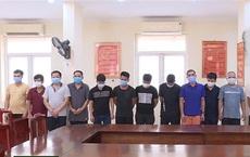 """Bắc Ninh: 13 con bạc say sưa sát phạt nhau khi dịch Covid-19 trong tỉnh đang """"nóng"""""""