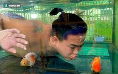 Nghỉ học từ lớp 11 để nuôi cá vàng trên sân thượng, chàng trai khoe kiếm 100-200 triệu đồng/tháng