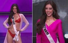 """Ngắm trọn 3 phần thi """"nóng hừng hực"""" của Khánh Vân trong bán kết Hoa hậu Hoàn vũ Thế giới 2020"""