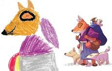 Loạt tranh vẽ nhân vật game cực ngầu đến từ tác phẩm nguệch ngoạc của trẻ nhỏ