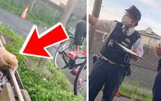 """Nhóm lửa nướng thịt ngoài đường, tới lúc bị cảnh sát Nhật """"sờ gáy"""", chàng trai Việt thốt lên 1 câu khiến dân mạng tranh cãi dữ dội"""