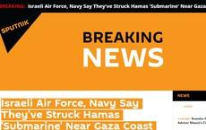 """NÓNG: Israel tiêu diệt """"tàu ngầm"""" Hamas - Hướng tấn công hoàn toàn mới và cực nguy hiểm từ biển"""