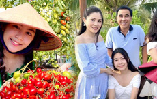 Con gái Quyền Linh đi làm vườn mà bùng nổ visual với vẻ ngoài xinh xỉu, để mặt mộc cũng không thể dìm được