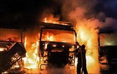 """Hệ thống phòng không đình đám của Nga bị """"đánh lừa"""", Syria rực lửa"""