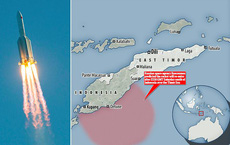 NÓNG: Nga dự báo tên lửa Trung Quốc sẽ rơi xuống Đông Nam Á, gần khu vực đông dân cư