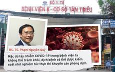 BS Phạm Nguyên Quý: Bài học dập dịch trong 2 tuần của bệnh viện Nhật Bản và điều Việt Nam có thể áp dụng để chặt đứt đường lây