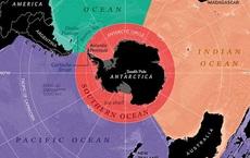 Bản đồ thế giới phải vẽ lại: Trái Đất có thêm 1 đại dương - Tạm biệt tập bản đồ cũ kỹ tồn tại 106 năm