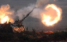 """Kinh hoàng cảnh quay đạn thông minh Krasnopol Nga giã nát nhóm """"quân Thổ"""" ở Syria!"""