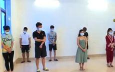 """Giữa mùa dịch không có việc làm 9 """"nam thanh nữ tú"""" tụ tập sử dụng ma túy ở Bắc Ninh"""