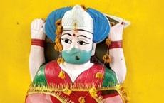 Hình ảnh mới nhất tại đền thờ 'thần corona' ở Ấn Độ