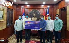 Lào tiếp tục vận động giúp đỡ Việt Nam chống dịch Covid-19