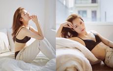"""""""Hot girl VTV"""" Khánh Vy đăng ảnh nóng bỏng: Đây là một trong những lần tôi đi trái lại với lời mẹ nói"""