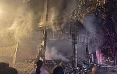 Nghệ An: Hiện trường vụ cháy kinh hoàng khiến 6 người tử vong