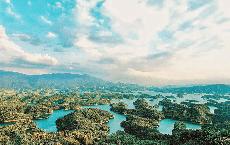 """Ở Việt Nam có một nơi hội tụ """"ngàn vạn đảo trên non cao"""", cảnh đẹp như tranh vẽ nhưng rất ít người biết đến"""