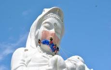 24h qua ảnh:  Tượng phật khổng lồ được đeo khẩu trang ở Nhật Bản