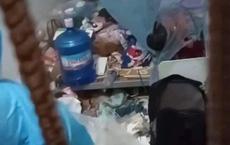Đội phun khử khuẩn, phòng dịch Covid-19 phát hoảng khi thấy căn phòng siêu bẩn của nữ sinh Bắc Giang