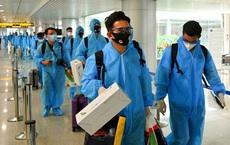 Trên chuyến bay chở đội tuyển bóng đá Việt Nam từ UAE về, có 2 người Việt mắc COVID-19