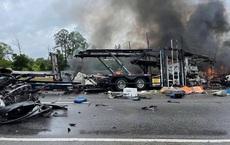 Tai nạn kinh hoàng ở Mỹ: 18 xe đâm nhau liên hoàn, 10 người chết trong đó có 9 trẻ em