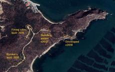 Hình ảnh vệ tinh cho thấy Trung Quốc vẫn đang đầu tư hệ thống phòng thủ bờ biển