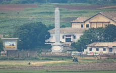 Ảnh hiếm về nông thôn Triều Tiên khi tình hình lương thực căng thẳng