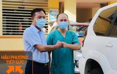 Bác sĩ vừa xong nhiệm vụ ở Vĩnh Phúc lại đến tâm dịch Bắc Giang: Con òa khóc hỏi khi nào bố về...