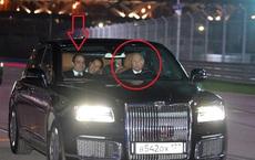 Putin tự tay cầm lái 'Gấu Nga' đưa tổng thống Ai Cập dạo trong trường đua - mẫu xe rất đặc biệt!