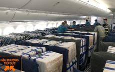 """Lần đầu tiên vải thiều """"ngồi"""" khoang hành khách trên siêu máy bay Boeing 787"""