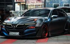 Bản độ VinFast Lux A2.0 gây sốt của thợ Việt: Thiết kế độc nhất vô nhị, đẹp không kém siêu xe