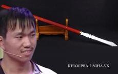 Chàng trai mang binh khí của tổ tiên đi kiểm định, chuyên gia giận dữ: Đừng để chúng tôi báo cảnh sát!