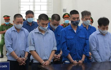 """Mức án cao nhất vụ bảo kê """"xe Vua"""" ở Hà Nội là 11 năm tù"""
