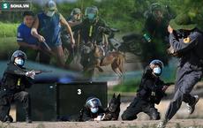 """Mãn nhãn với màn biểu diễn võ thuật, nổ súng truy bắt tội phạm của Cảnh sát cơ động cùng những """"chiến binh đặc biệt"""""""