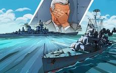 """Con tàu """"ma ám"""" suýt lấy mạng Tổng thống Mỹ: Thế giới thót tim vì quả ngư lôi kinh hoàng"""