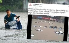 Thực hư thông tin một hồ chứa ở Trịnh Châu, TQ bị vỡ trong đêm khiến báo đài đăng tin rồi lại xóa