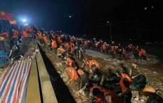 Mưa lũ gây vỡ đê ở Hà Nam (Trung Quốc), thành phố Tân Hương nguy cấp