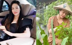 Hình ảnh đối lập gây thích thú của Nhật Kim Anh trong biệt thự triệu đô