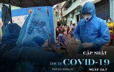 Sáng đầu tiên Hà Nội giãn cách xã hội, đường phố vắng tanh, chợ đông nghẹt người. Thêm 3.991 ca mắc COVID-19, riêng TP.HCM 2.070 ca