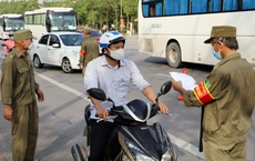Người dân Hà Nội bị phạt đến 3 triệu nếu ra đường không thực sự cần thiết trong thời gian giãn cách