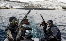 Giải mã về lực lượng người nhái chiến đấu bí ẩn của Nga